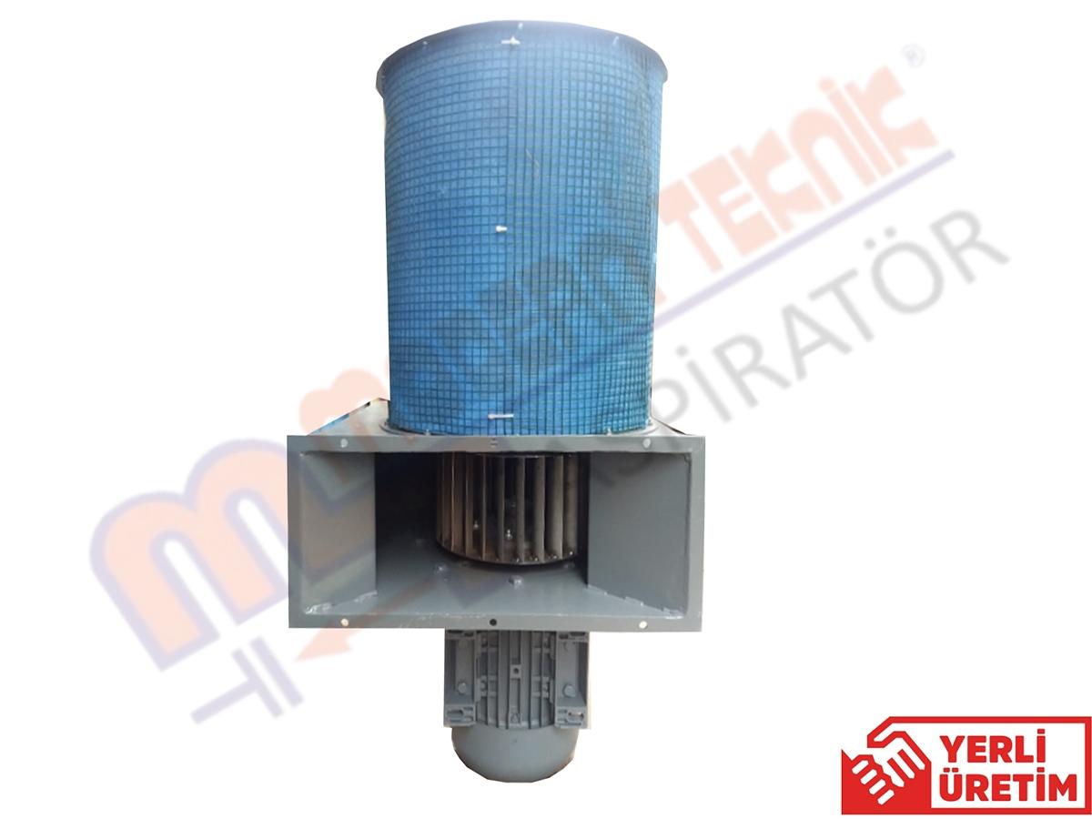 100 KW DC Motor İçin 7,5 KW Filitreli Soğutma Fanı